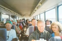 A bus ride to Boston