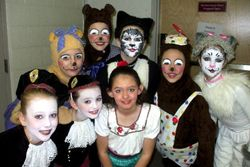 """Some of our 2009 """"Little Match Girl"""" performers"""