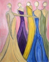 5 ladies party line