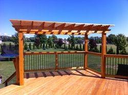 Deck & Pergola in Beavton, Ontario