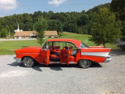 17.1957 Chevy Belair 4 door hard top