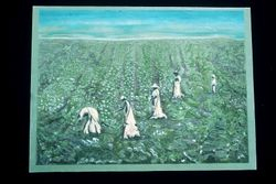 Cotton pickers, American South