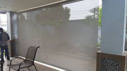 Motorized Outdoor Roller Blinds