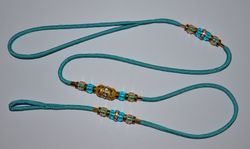 Turquoise with Gold!