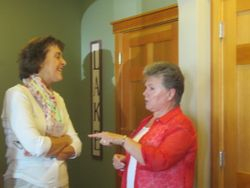 Libby Reichlen and Barbara Palmer
