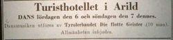 Turisthotellet Kullen 1927