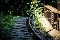 Gleisbett Richtung Jungfernheide