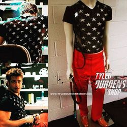 Fight Club Star Shirt and red pants