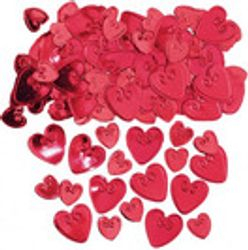 Large Red Heart Confetti £4.99