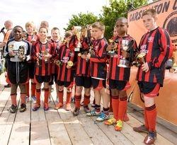 Saints Cup Winners & League Runners Up