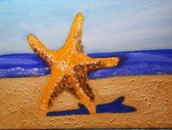 Star Fish Standing