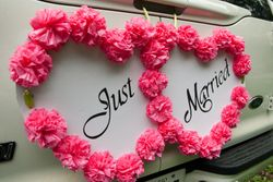 "Let everyone know you're ""Just Married""!!"