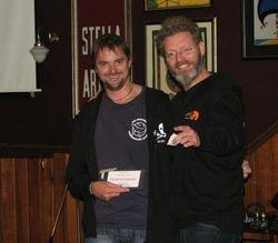 "First Prize - Rodney Fox ""Strappy"" the shark Sponsorship"