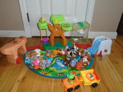 Fisher Price Little People A to Z Learning Zoo Playset - $65