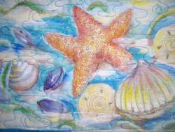 """Sea Treasures"" Panel"