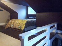Attic Remodel --> Loft Bedroom Space