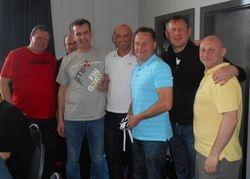 Gary Brooks Masters Runners Up - St.Mirren