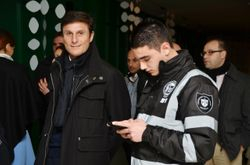 My Son with Zanetti