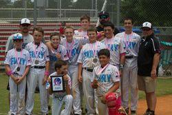 Fury 12U White Bracket Runner-Up