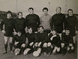 Wrestlers Football Team 1969