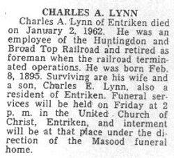 Lynn, Charles A. 1962