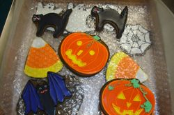 fancy halloween cookie asst $3- $5/ea
