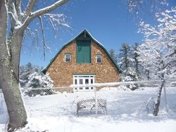 """Winter 2008 Axton Lodge, """"The Pines"""""""