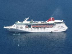 Pullmantur Cruises' Empress - former Empress of the Seas