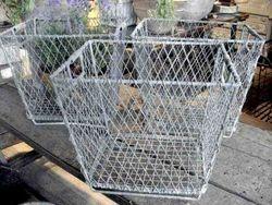#13/240 10 Metal Wire Baskets SOLD