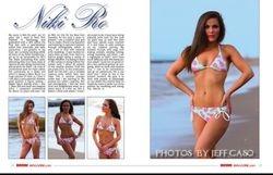 Niki Ro Bikini Magazine October 2015
