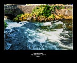 Backbarrow Bridge, River Leven - Cumbria - England