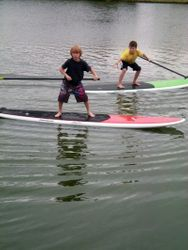 Stand Up Paddleboarding SUP
