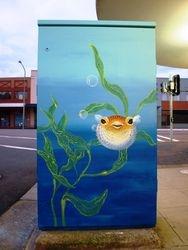 FISH BOX - PUFFER   Union St Newcastle