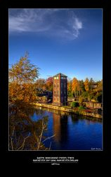 Barton Swing Bridge Control Tower- Manchester Ship Canal