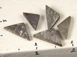 African Gibeon Meteorite Fragments 09-00184