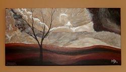 Shifting Winds, 24x12 $195