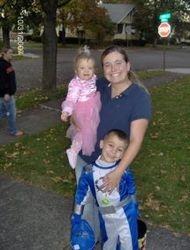 Erin Herrick with Kids