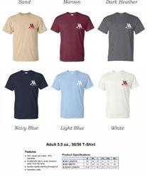 T-Shirts. | Heavyweight, 50/50 DryBlend Fabric | Silk-Screen Logo
