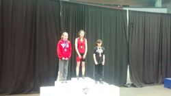 Adelaide Eve - 2nd place at Cadet Provincials 2015