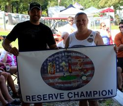 A2 Winner Reserve Champion Fergolicious BBQ