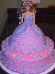 Fashion Doll/ Princess Cake (1)