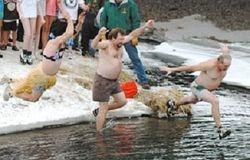 Chatfield, MN Polar Plunge  2005