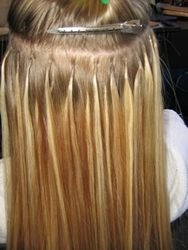 HAIR FUSION EXTENSIONS