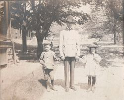 Gerald, Fred, and Marjorie Shollar