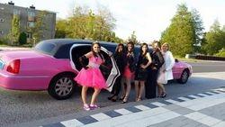 Lincoln Limousine roze