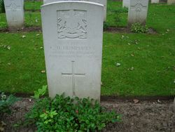 Pte.41754  C.H. HUMPHREYS. 1st 9th Bn.