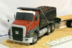 CAT Truck cake