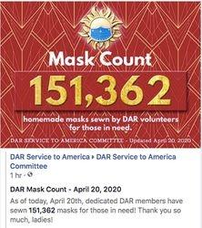 April 20th -151,362 Masks Made