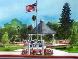 Centennial Park and Gazebo