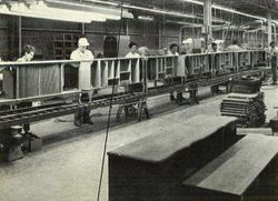 The Cabinet Assembly of the Curtis Mathes Plants in Texas